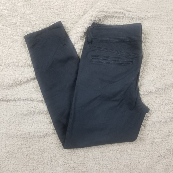 American Eagle Outfitters Denim - American Eagle Black Moto Jeggings Size 10